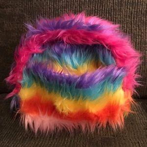 Furry Rainbow 🌈 Raver Mini-Bag